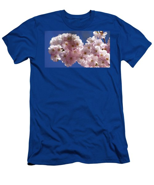 Japanese Flowering Cherry Prunus Serrulata Men's T-Shirt (Athletic Fit)