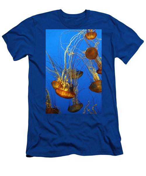 Jellyfish Family Men's T-Shirt (Athletic Fit)