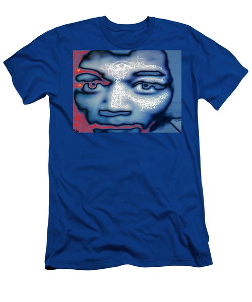 Jimi Hendrix Oh Say, Can You See The Rockets Red Glare Men's T-Shirt (Athletic Fit)