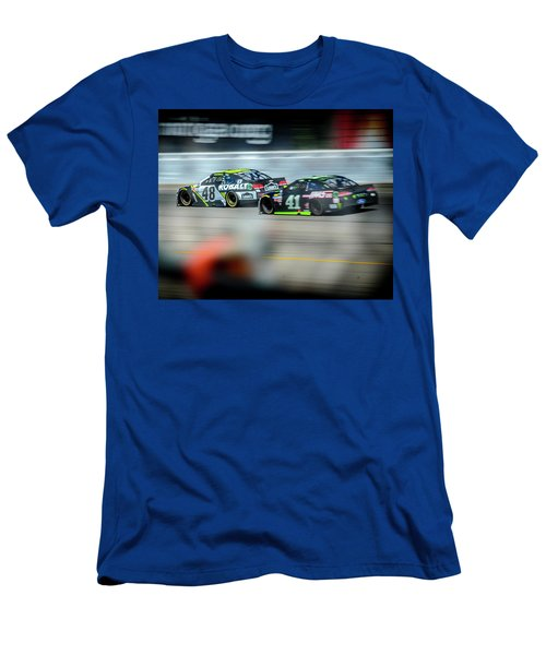 Jimmie Johnson Charging Ahead At Mis Men's T-Shirt (Athletic Fit)