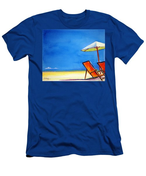 Men's T-Shirt (Slim Fit) featuring the painting Join Me by Suzanne McKee