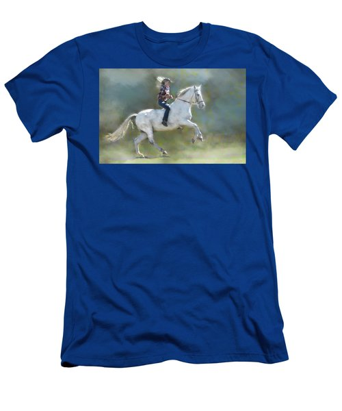 Joker And The Ranch Hand Men's T-Shirt (Athletic Fit)