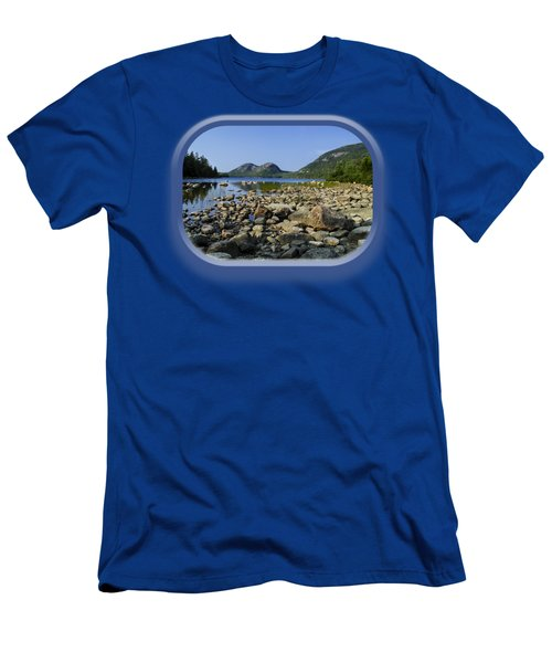 Men's T-Shirt (Athletic Fit) featuring the photograph Jordan Pond No.1 by Mark Myhaver