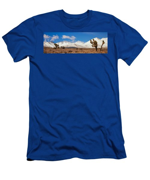 Joshua Trees In The Sierra Nevada Men's T-Shirt (Athletic Fit)