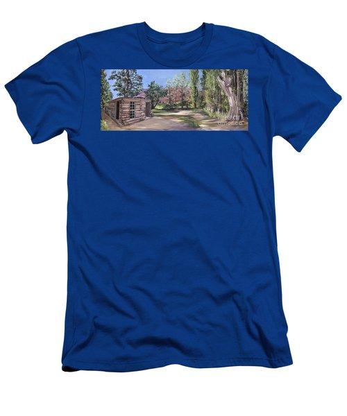 Josie's Cabin Men's T-Shirt (Athletic Fit)