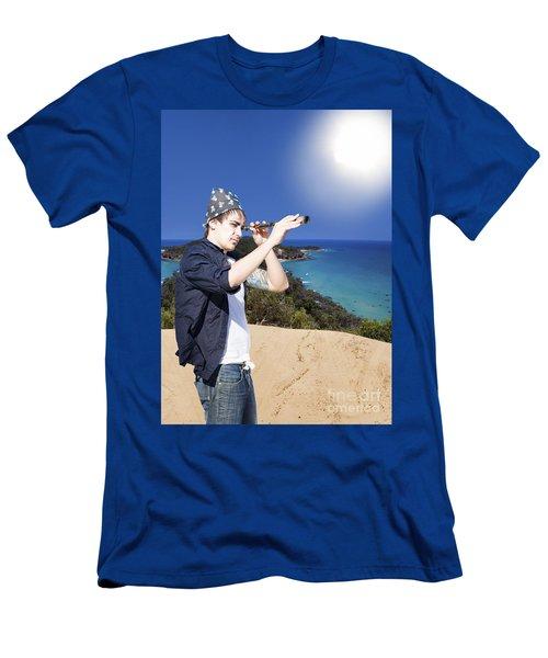 Journey Of Adventure Men's T-Shirt (Athletic Fit)