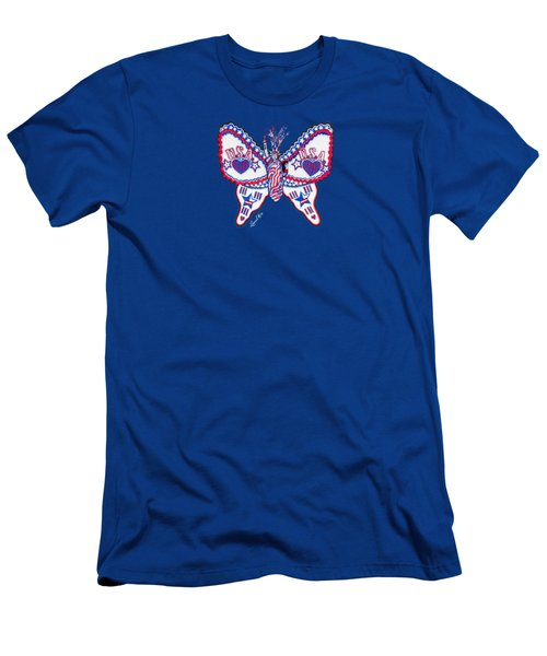 July Butterfly Men's T-Shirt (Athletic Fit)