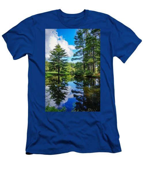 June Day At The Park Men's T-Shirt (Athletic Fit)