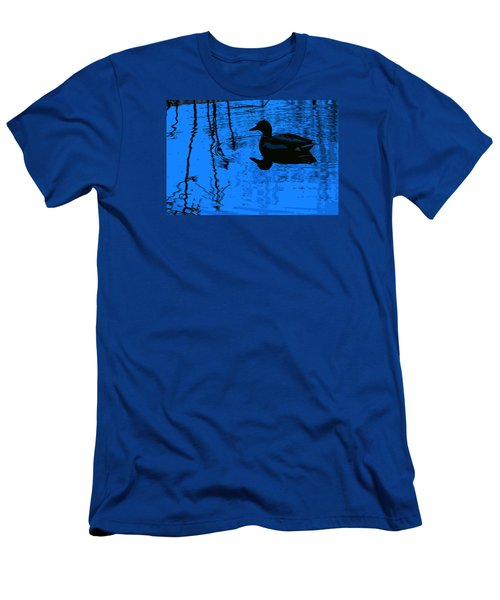 Just Floating Along Men's T-Shirt (Slim Fit) by John Rossman