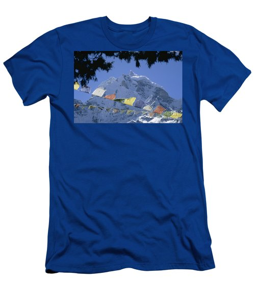 Kang Tega Nepal Men's T-Shirt (Slim Fit) by Rudi Prott