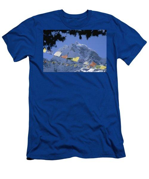 Kang Tega Nepal Men's T-Shirt (Athletic Fit)
