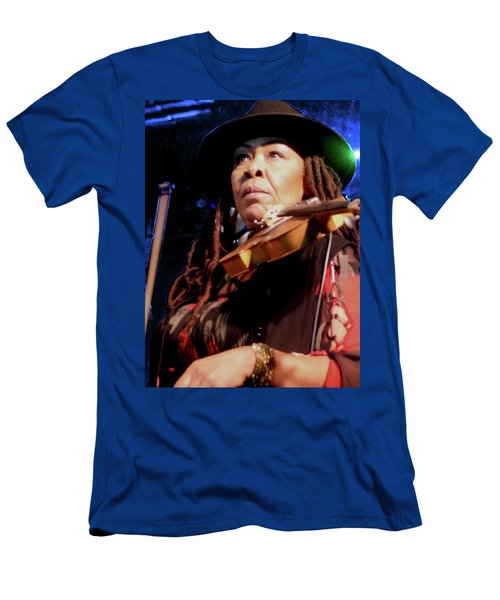 Karen Briggs 2017 Hub City Jazz Festival - Pause Men's T-Shirt (Athletic Fit)