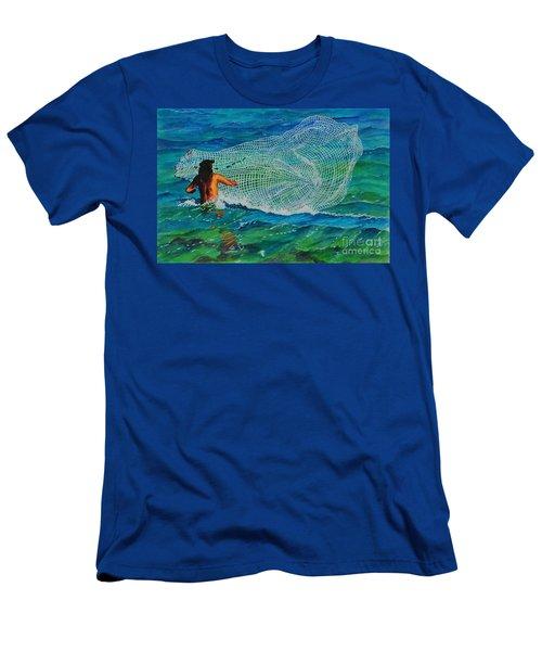 Kauai Fisherman Men's T-Shirt (Athletic Fit)