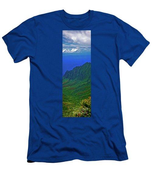 Kauai  Napali Coast State Wilderness Park Men's T-Shirt (Athletic Fit)