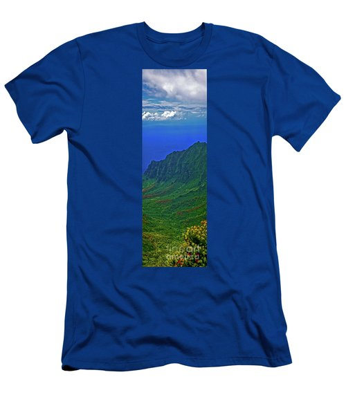 Kauai  Napali Coast State Wilderness Park Men's T-Shirt (Athletic Fit)