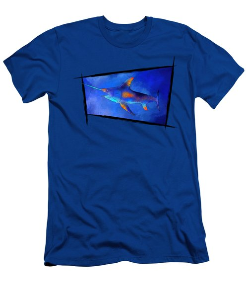 Kauderon V1 - Beautiful Swordfish Men's T-Shirt (Slim Fit) by Cersatti