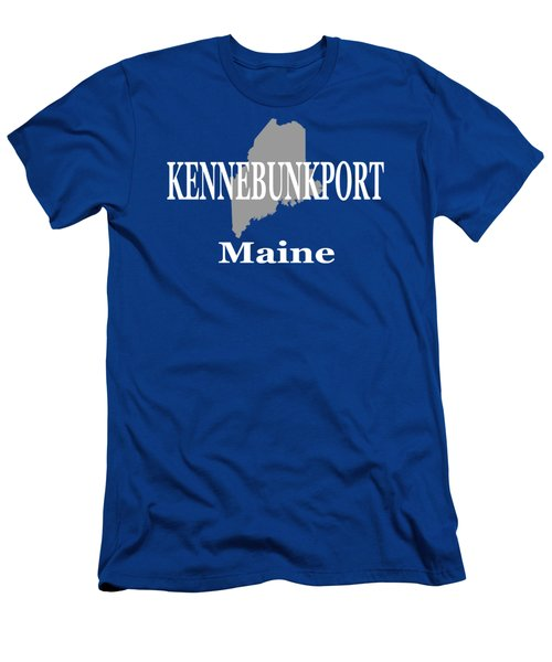 Men's T-Shirt (Slim Fit) featuring the photograph Kennebunk Maine State City And Town Pride  by Keith Webber Jr