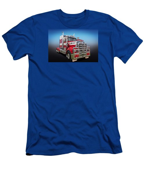 Men's T-Shirt (Slim Fit) featuring the photograph Kenworth by Keith Hawley