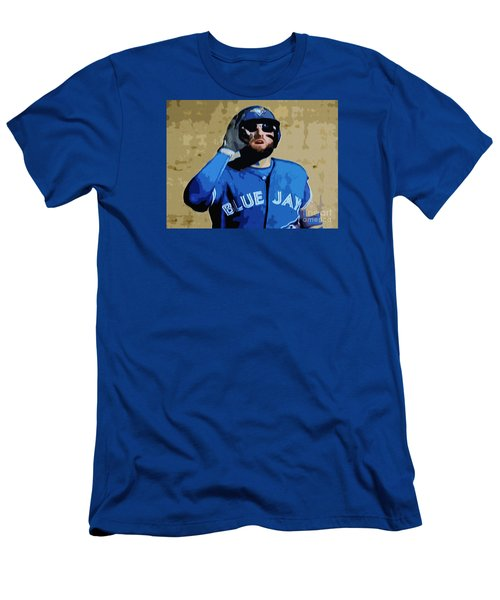 Kevin Pillar Men's T-Shirt (Slim Fit) by Nina Silver