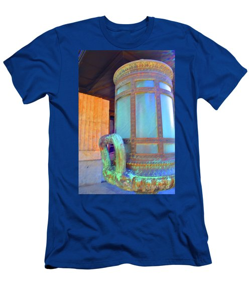 Men's T-Shirt (Athletic Fit) featuring the photograph Key West Federal by Jost Houk