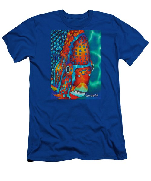 King Angelfish Men's T-Shirt (Athletic Fit)