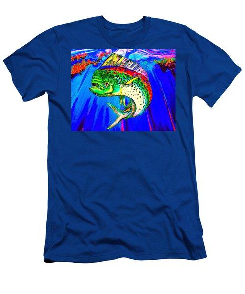 King Mahi-mahi Men's T-Shirt (Athletic Fit)