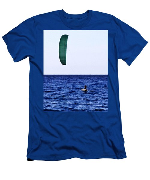 Kite Board Men's T-Shirt (Athletic Fit)