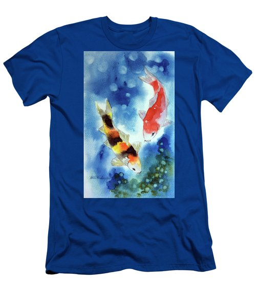 Koi Fish 4 Men's T-Shirt (Athletic Fit)
