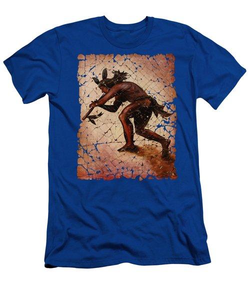 Kokopelli Flute Player Men's T-Shirt (Athletic Fit)