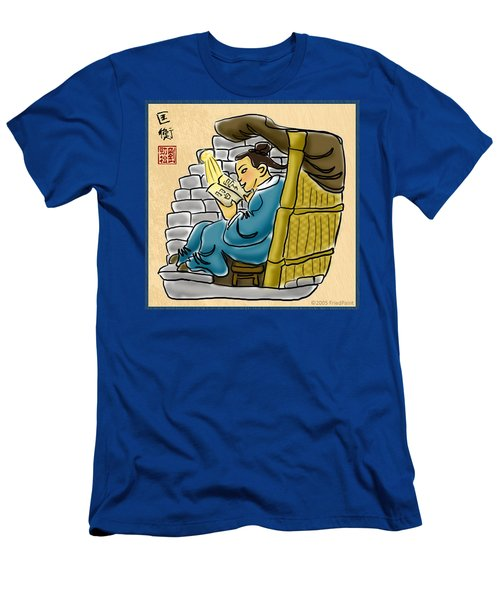 Kuang Heng Stealing Light To Study Men's T-Shirt (Athletic Fit)