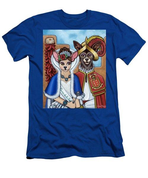La Reina Y Devargas Men's T-Shirt (Athletic Fit)