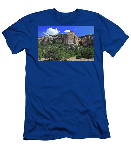 Men's T-Shirt (Slim Fit) featuring the photograph La Ventana Arch by Gary Kaylor