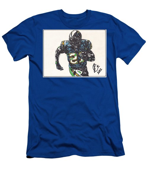 Ladainian Tomlinson 1 Men's T-Shirt (Slim Fit) by Jeremiah Colley