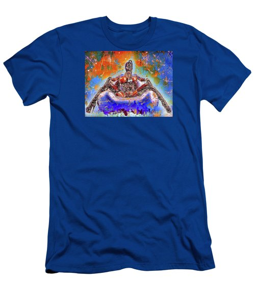 Men's T-Shirt (Athletic Fit) featuring the mixed media Lady In Latex by Al Matra