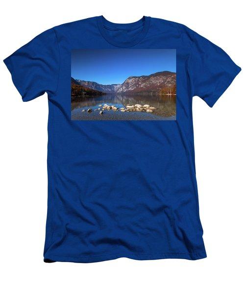Lake Bohinj Men's T-Shirt (Athletic Fit)