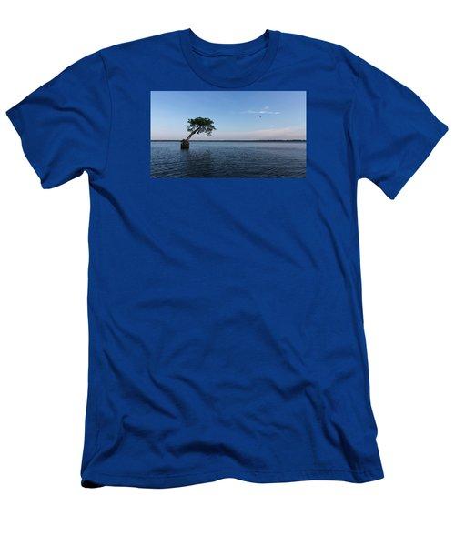 Lake Disston Cypress #2 Men's T-Shirt (Slim Fit) by Paul Rebmann