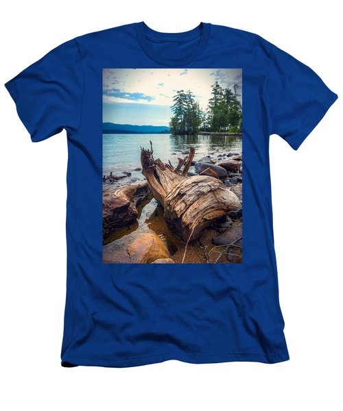Lake George Palette Men's T-Shirt (Athletic Fit)