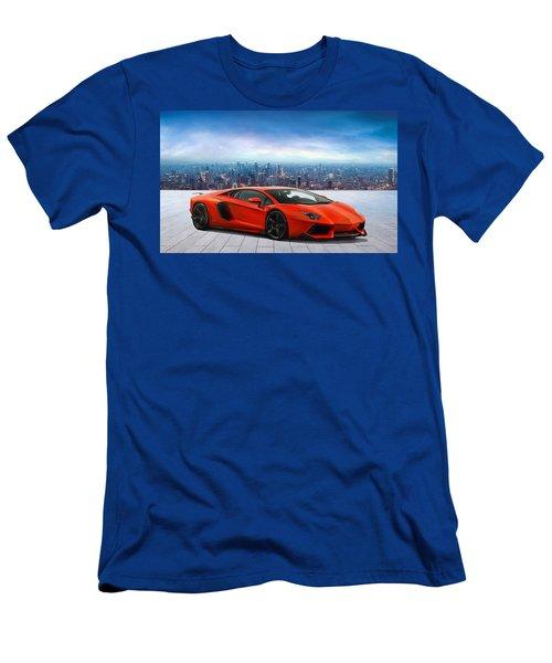 Lambo Cityscape Men's T-Shirt (Athletic Fit)