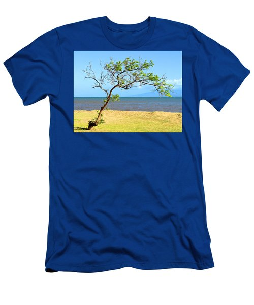 Lanai Leaning Men's T-Shirt (Athletic Fit)