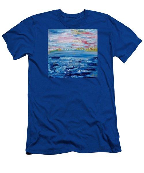 Landscape. Fantasy 05/02 Men's T-Shirt (Athletic Fit)