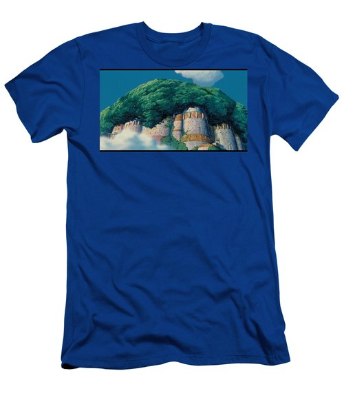 Laputa Castle In The Sky Men's T-Shirt (Athletic Fit)