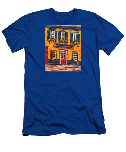 Le Petit Cochon Dingue Men's T-Shirt (Athletic Fit)