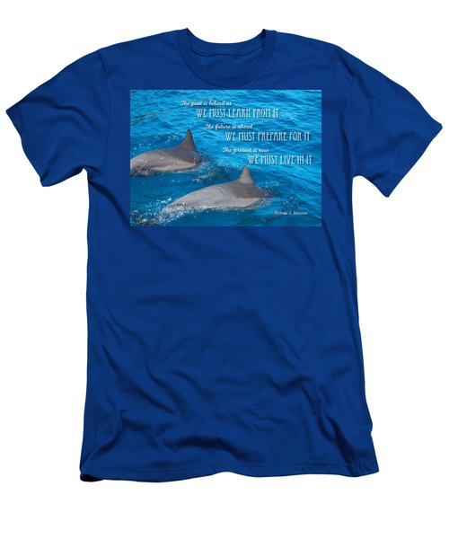 Learn Prepare Live Men's T-Shirt (Athletic Fit)