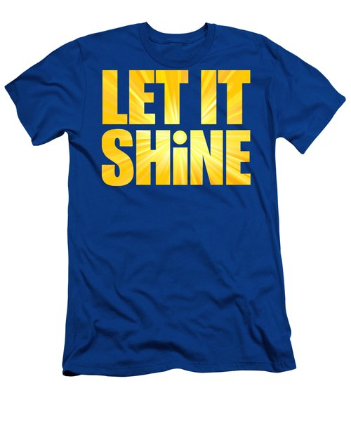 Let It Shine Sun Men's T-Shirt (Athletic Fit)
