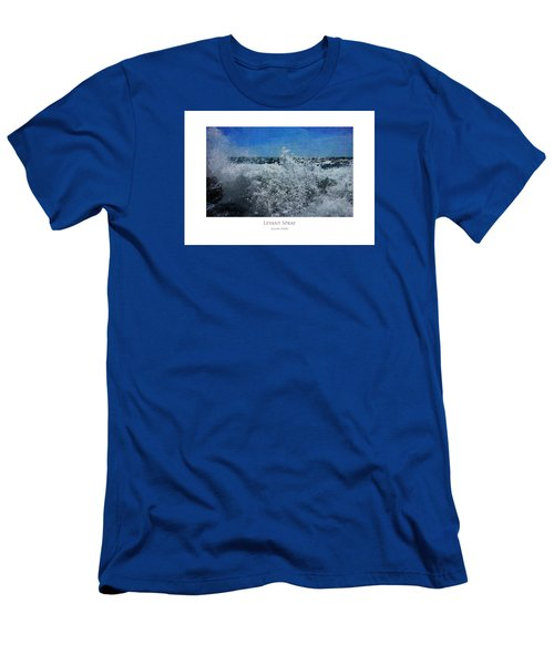 Men's T-Shirt (Athletic Fit) featuring the digital art Levant Spray by Julian Perry