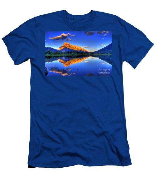 Life's Reflections Men's T-Shirt (Slim Fit) by Scott Mahon