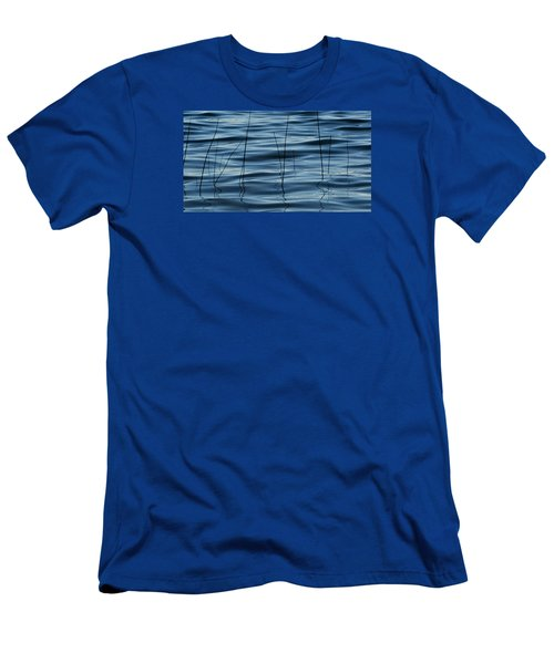 Men's T-Shirt (Slim Fit) featuring the photograph Liquid Reflections  by Lyle Crump