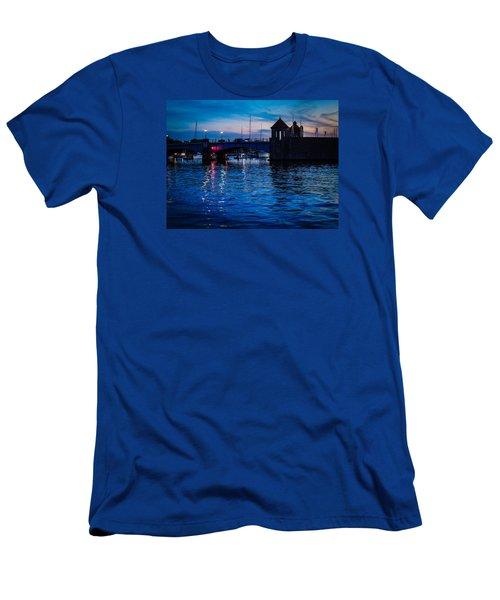 Liquid Sunset Men's T-Shirt (Slim Fit) by Glenn Feron
