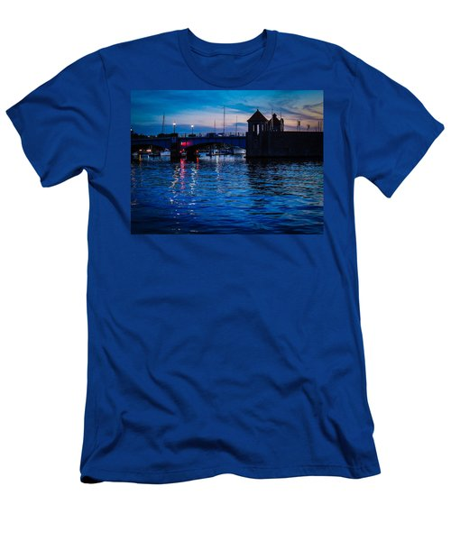 Liquid Sunset Men's T-Shirt (Athletic Fit)