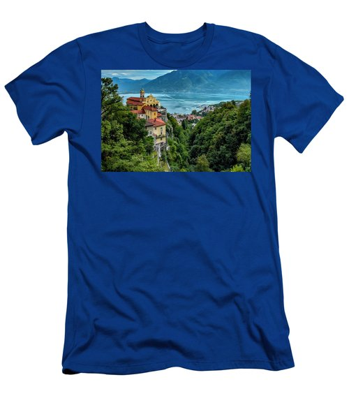 Locarno Overview Men's T-Shirt (Slim Fit) by Alan Toepfer